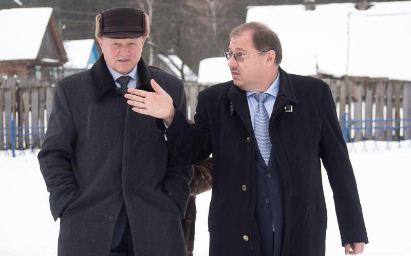 Депутат Госдумы Борис Пайкин посетил Суражский и Выгоничский районы Брянской области