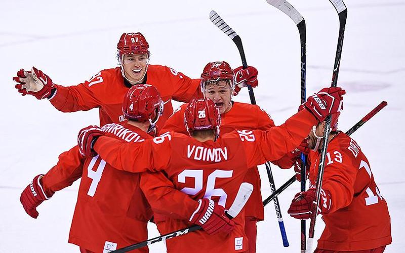 Хоккеисты сборной России обыграли немцев и стали олимпийскими чемпионами