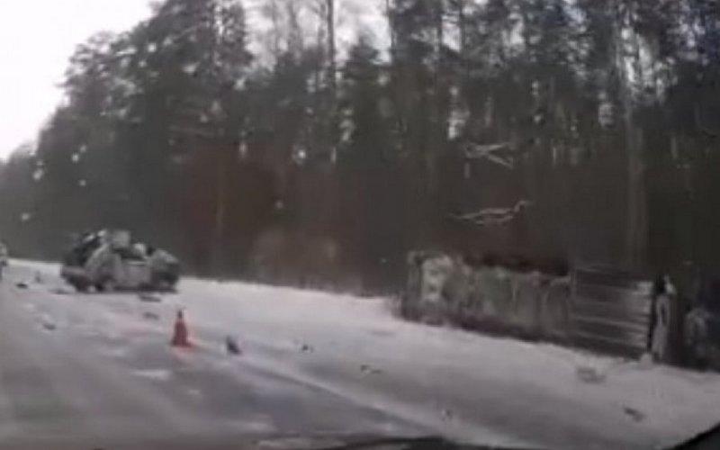 НаОбъездной возле поселка Свень произошла страшная авария