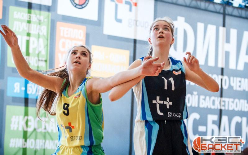 В яркой и зрелищной борьбе в Брянской области определились чемпионы школьной баскетлиги