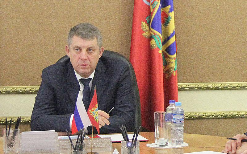Брянский губернатор Александр Богомаз празднует день рождения