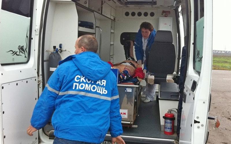 Вмассовом ДТП под Унечей пострадал 50-летний мужчина