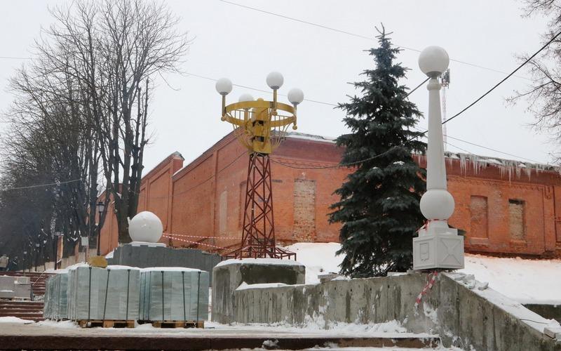 Новый срок: главную лестницу Брянска планируют сдать к концу февраля