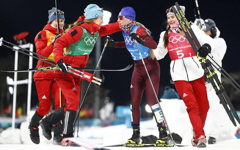 Женская лыжная эстафета приносит России седьмую «бронзу»