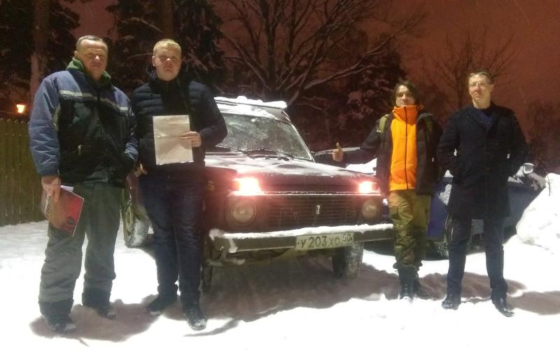 Неравнодушный москвич подарил брянским волонтерам «Лизы Алерт» внедорожник