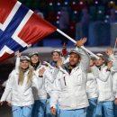Сборная Норвегии стала первой в медальном зачете на Олимпиаде в Корее