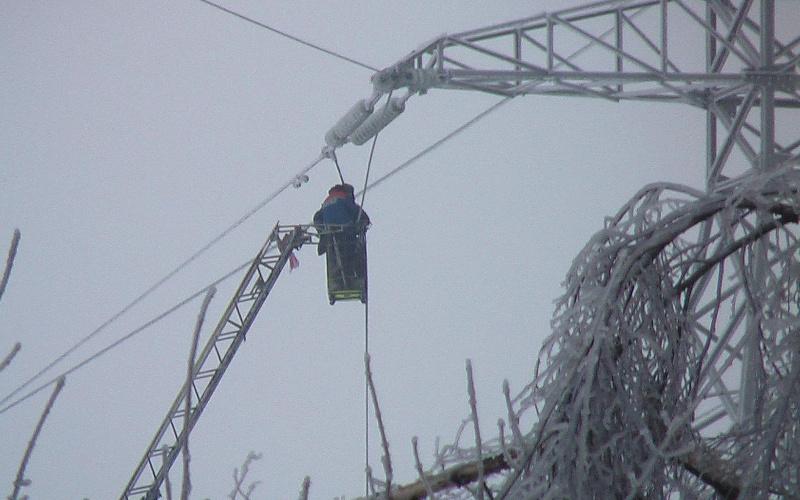 В Брянской области без света остались 38 населенных пунктов