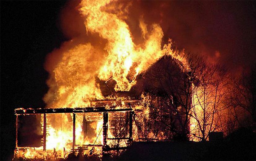 ВДень защитника Отечества наБрянщине горели три дома