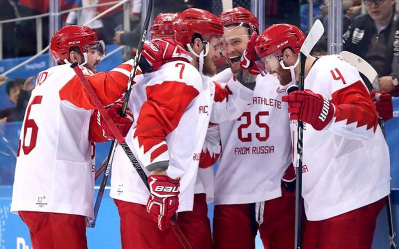 Российские хоккеисты впервые за20 лет вышли вфинал Олимпиады