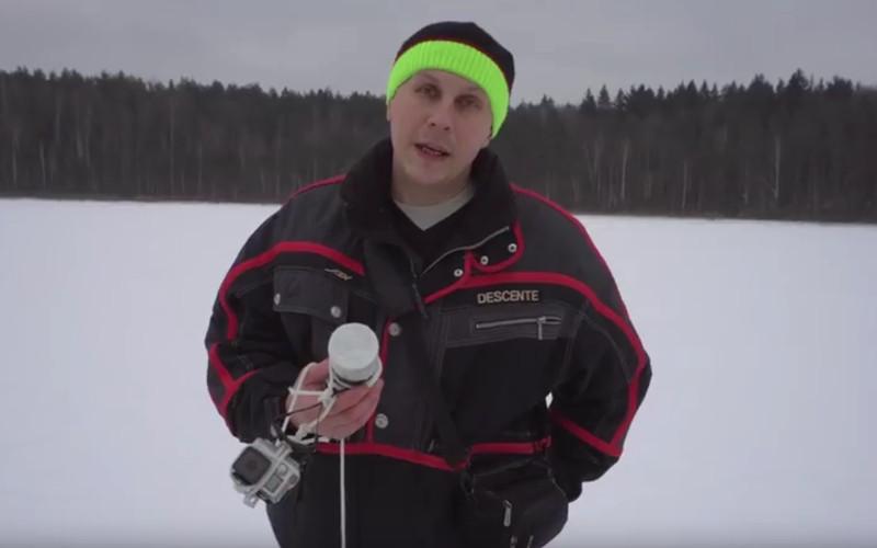 Что увидели брянцы, исследовав дно Круглого озера с помощью камеры GoPro