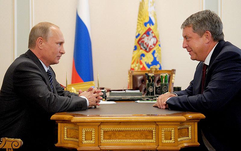 Президент Путин поздравил губернатора Богомаза сднем рождения