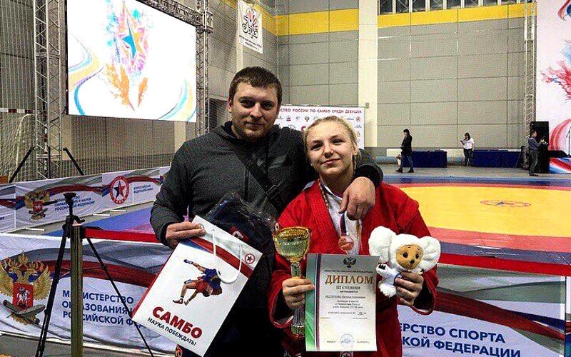 Брянские самбистки завоевали путевки на международные старты