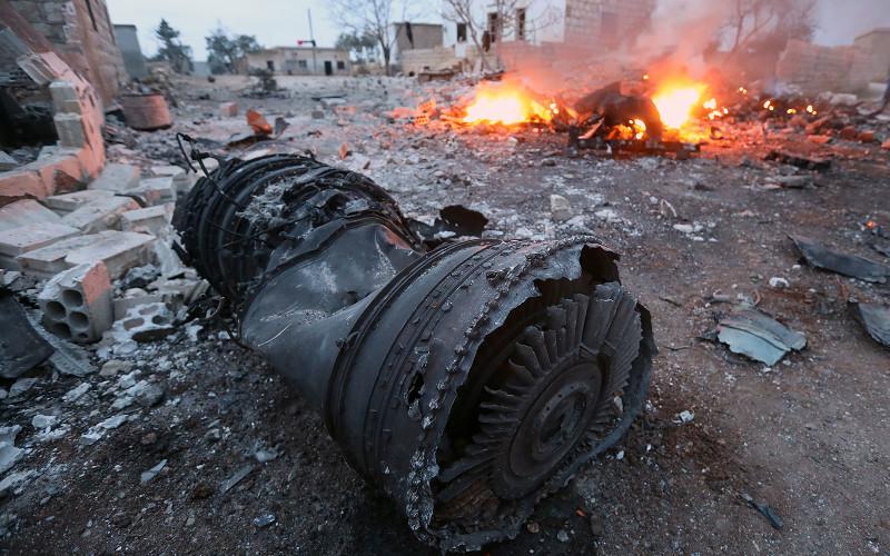 В Сирии боевики сбили Су-25 российских ВКС