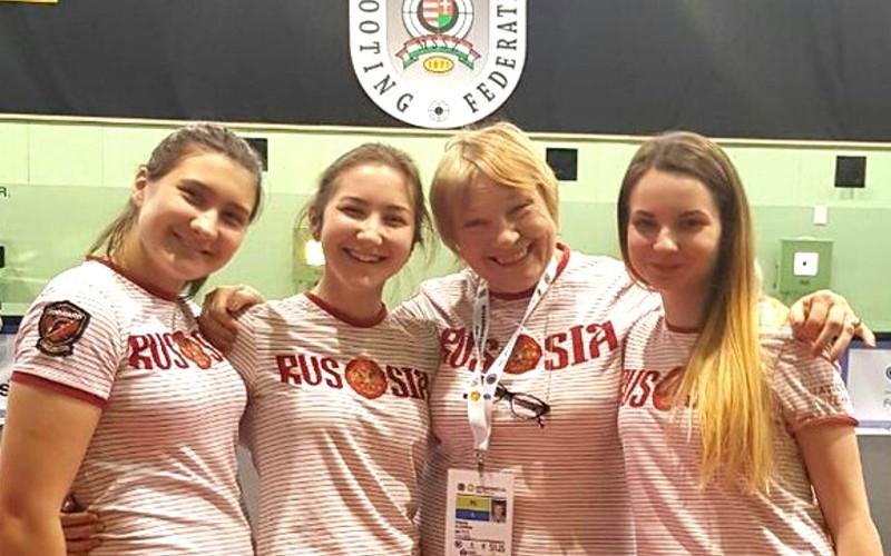Стрелок из Брянска Ольга Веретельникова стала чемпионкой Европы