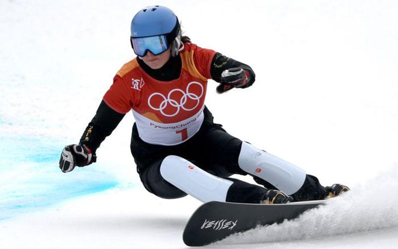 Российская сноубордистка Заварзина несмогла взять бронзу наОлимпиаде