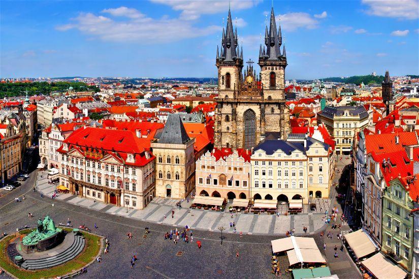 Какая погода в Праге летом?