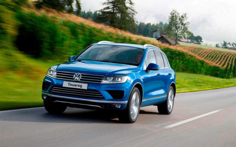 Volkswagen Touareg — автомобиль с самой высокой остаточной стоимостью в сегменте