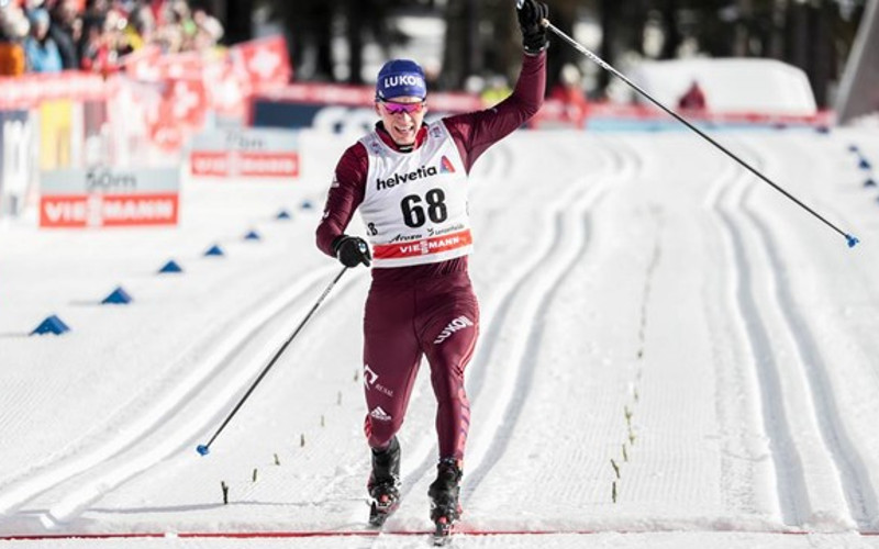 Брянский лыжник Александр Большунов взял серебро этапа Кубка мира в Финляндии