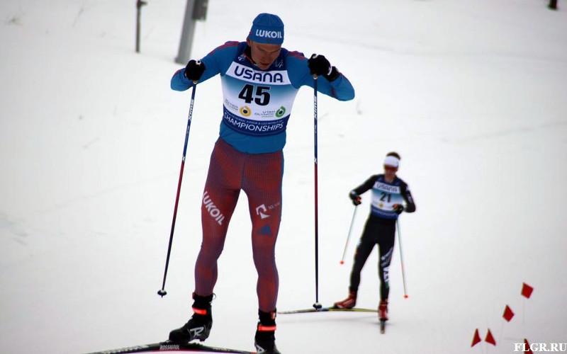 Брянский лыжник Большунов остался за чертой призеров на этапе Кубка Мира
