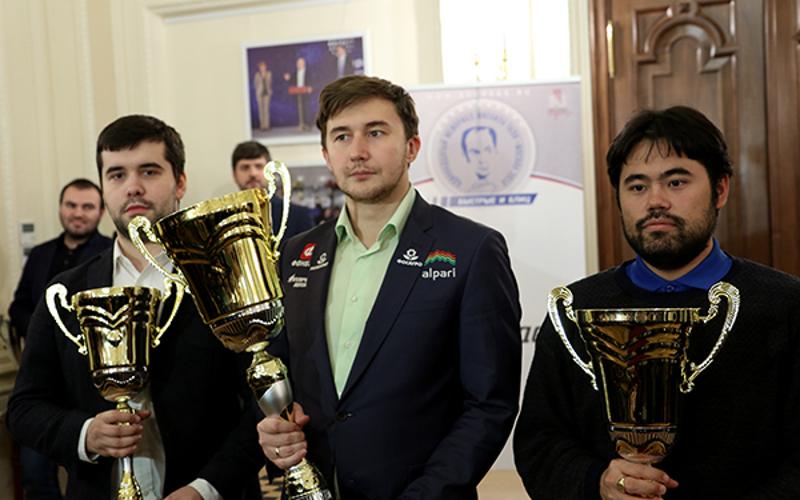 Уроженец Брянска Ян Непомнящий занял третье место на Мемориале Таля