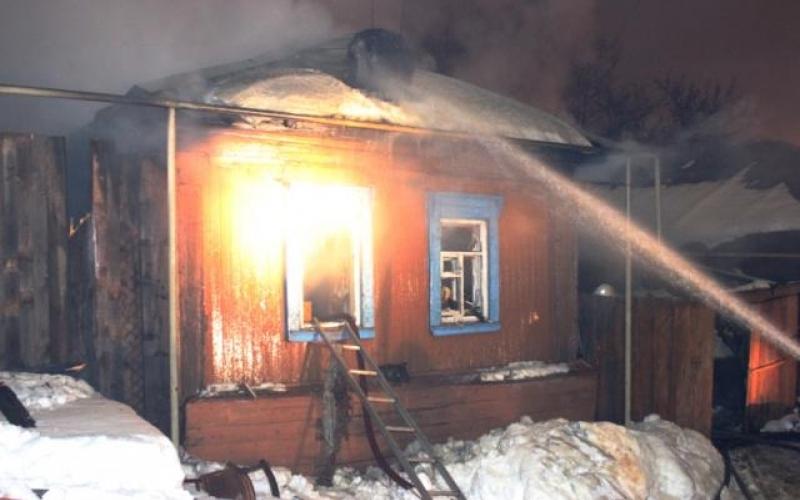 При пожаре в Сураже погибла 66-летняя женщина