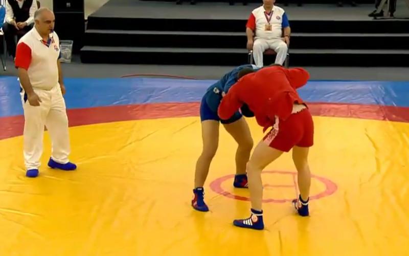 Брянский самбист Виктор Осипенко пробился в финал этапа Кубка мира