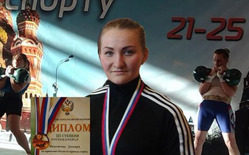 Свыше 900 килограммов подняла брянская спортсменка на первенстве страны по гиревому спорту