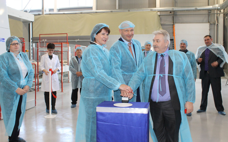 В Погарском районе открылось уникальное для России производство кормовых добавок