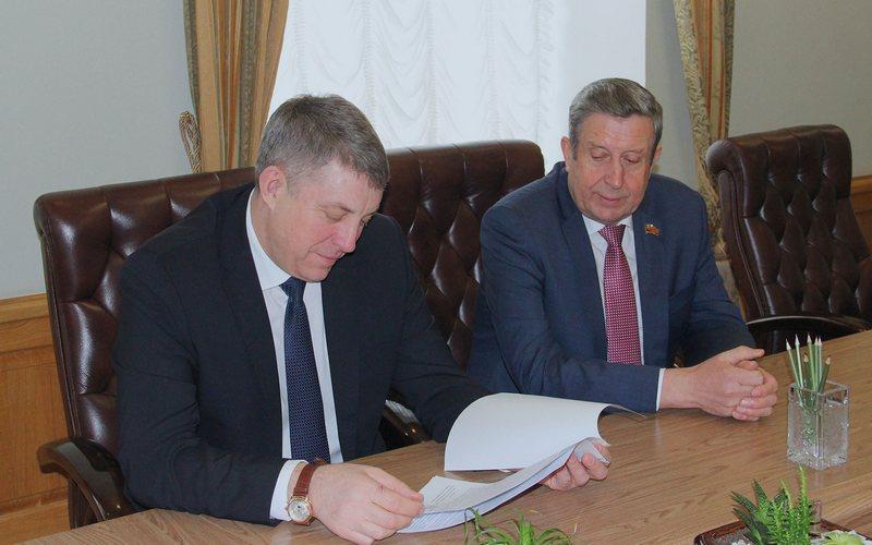 Богомаз и Овсиенко обсудили послание президента