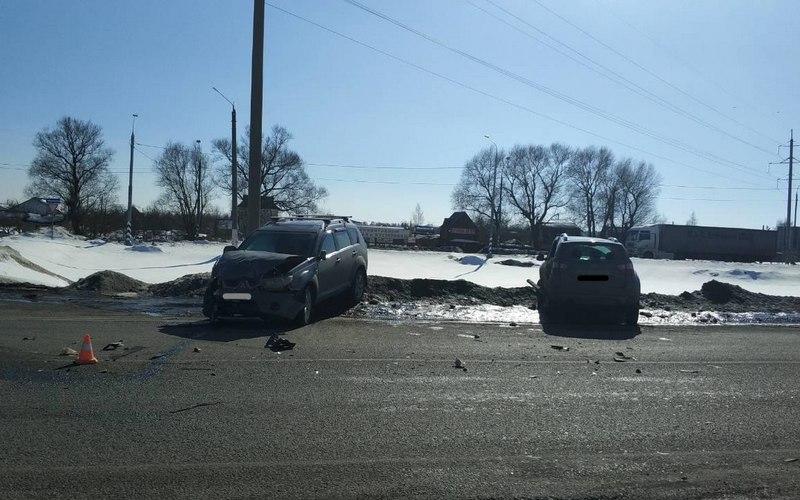 В ДТП под Брянском пострадал неуступчивый автомобилист