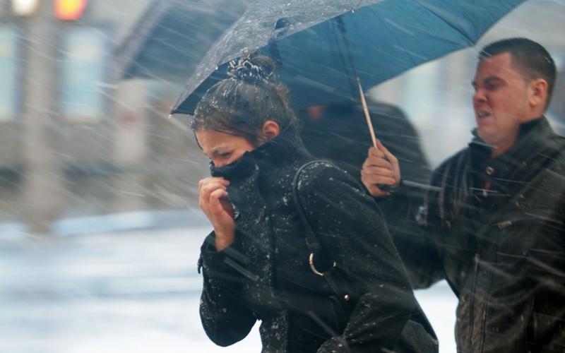 Вторник «порадует» брянцев снегом с дождем