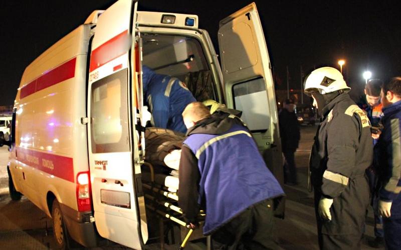 В Брянске женщина-водитель разбила голову пешеходу