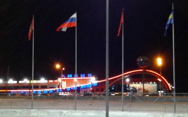 Возле  «Линии» на втором Брянске наблюдали вооруженных полицейских