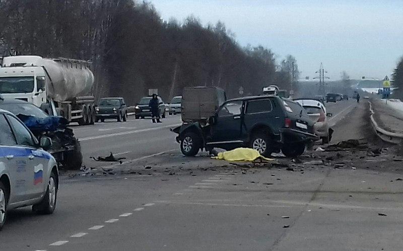Встрашном ДТП под Выгоничами погиб житель Брянска, ехавший нарыбалку