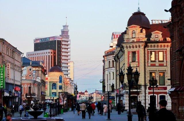 Главная улица Казани