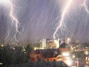 Дождь с грозой и сильный ветер ожидается в пятницу на Южном Урале