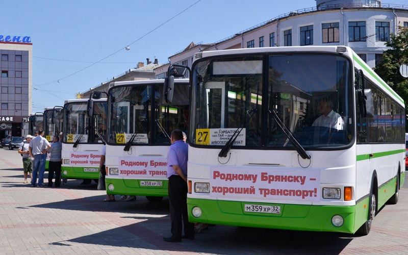В Брянске закупят автобусы на 200 миллионов рублей