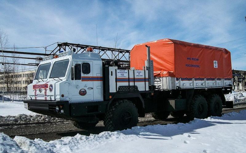 Брянский автозавод создал арктический вездеход для МЧС