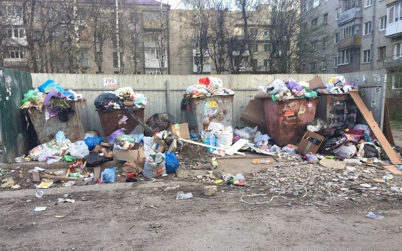 Брянский проспект Станке Димитрова превратился в одну большую свалку