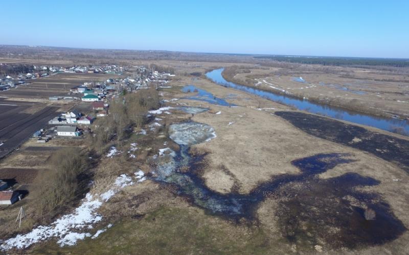 За сутки вода в Десне в черте Брянска поднялась на 44 сантиметра