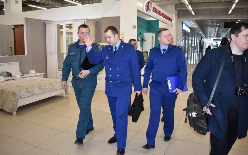 Прокуратура и МЧС не нашли нарушений в ТРЦ «АЭРО ПАРК»
