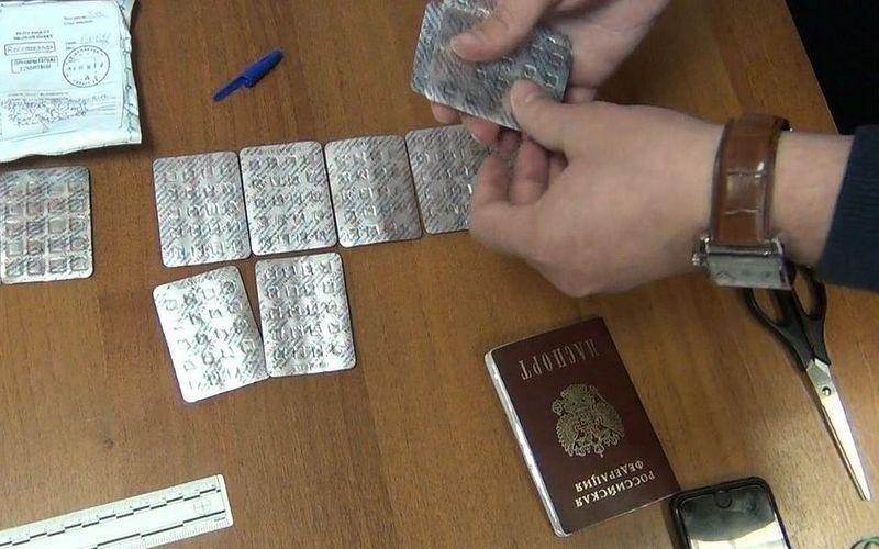 В Севске на контрабанде таблеток попался молодой москвич