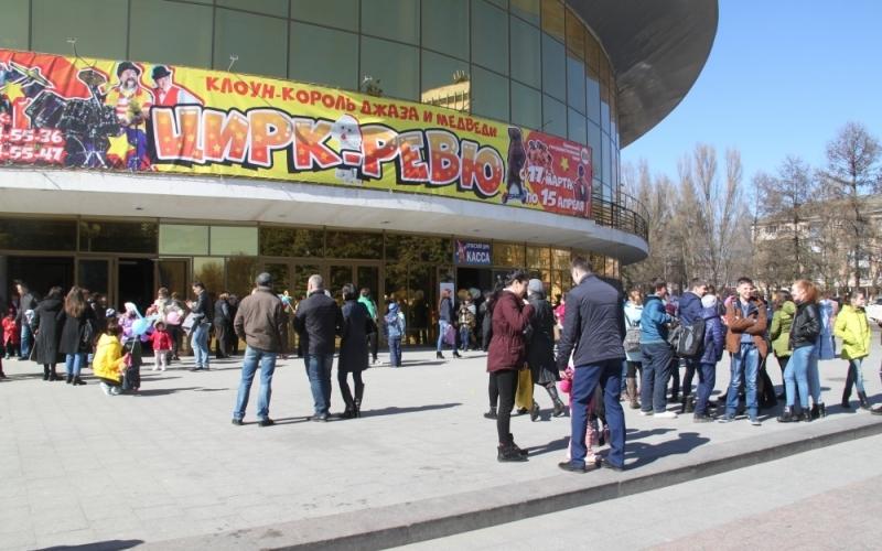 Зрителям пришлось покинуть брянский цирк во время представления
