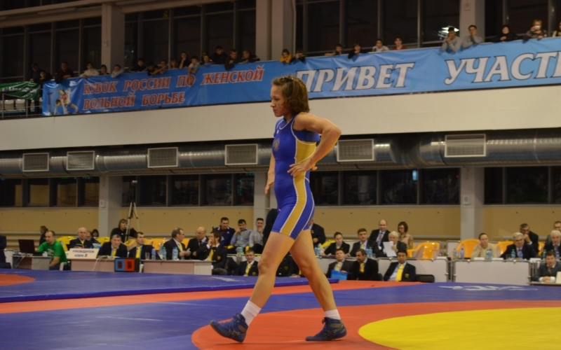 Алина Морева всех положила на лопатки  на первенстве «Локомотива»