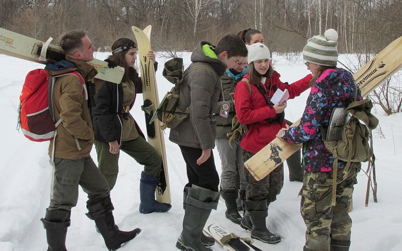 В «Брянский лес» привезли будущую смену сотрудникам заповедника