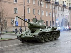 Танки в центре Челябинска: по городу проедут легендарные Т-34