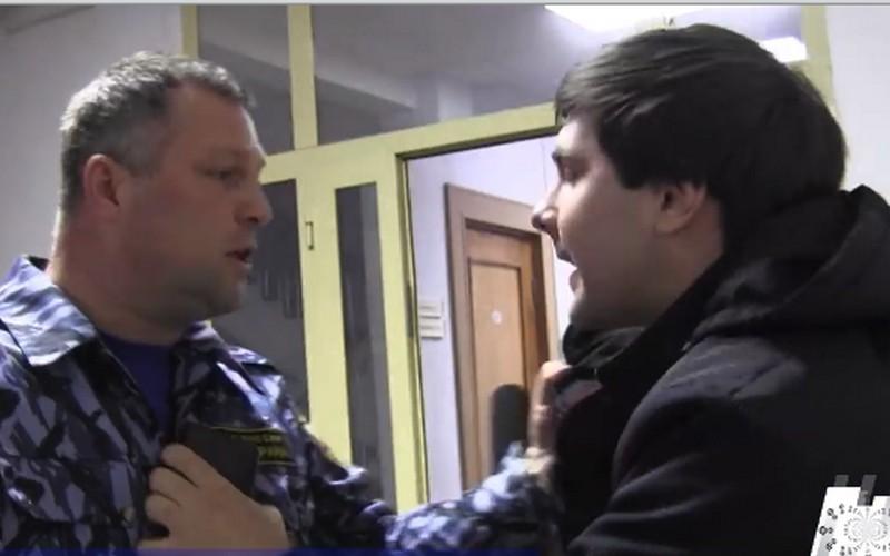 Московские журналисты подрались сохраной правительства Брянской области