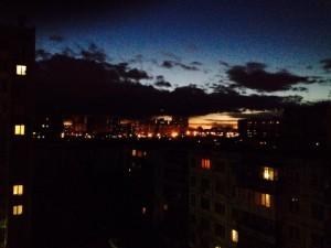 Грозовое небо над Челябинском