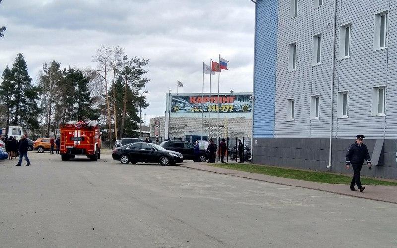 В Брянске из МРЭО ГИБДД эвакуировали людей