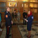 Ряды брянских казаков пополнили две девушки